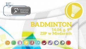 Przed nami Badminton.