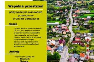 """Gmina Zbrosławice w projekcie """"Wspólna przestrze"""