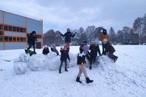 Półkolonie zimowe w zbrosławickich szkołach