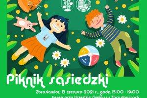 Piknik sąsiedzki w Zbrosławicach