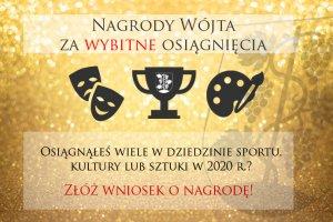 Nagrody Wójta - zgłoszenia kandydatur do końca