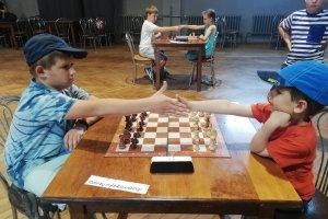 Młodzi szachiści grali o puchar