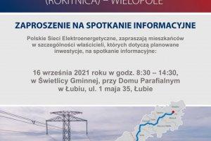 Spotkanie informacyjne dot. budowy linii 400KV